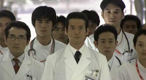 Japanese famous medical drama Shiroi Kyoto( The White Tower)