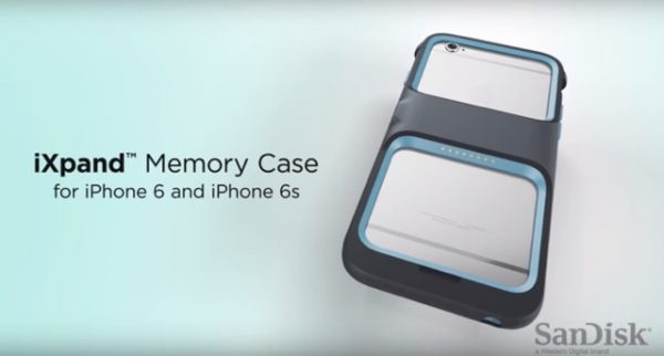 This iPhone case which increases at 128GB by Sandisk is must for those who worry about iPhone's capacity!