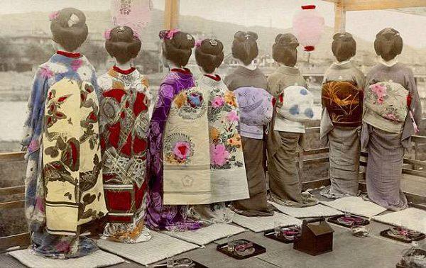 江戸時代の着物