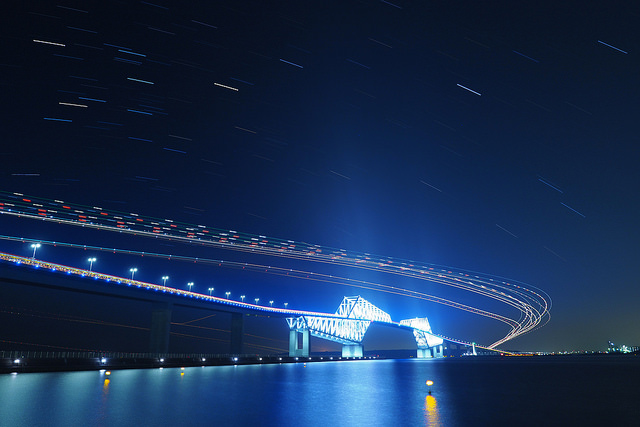 The Longest bridges in Japan in the top 10 ranking -from the 10th to 6th-