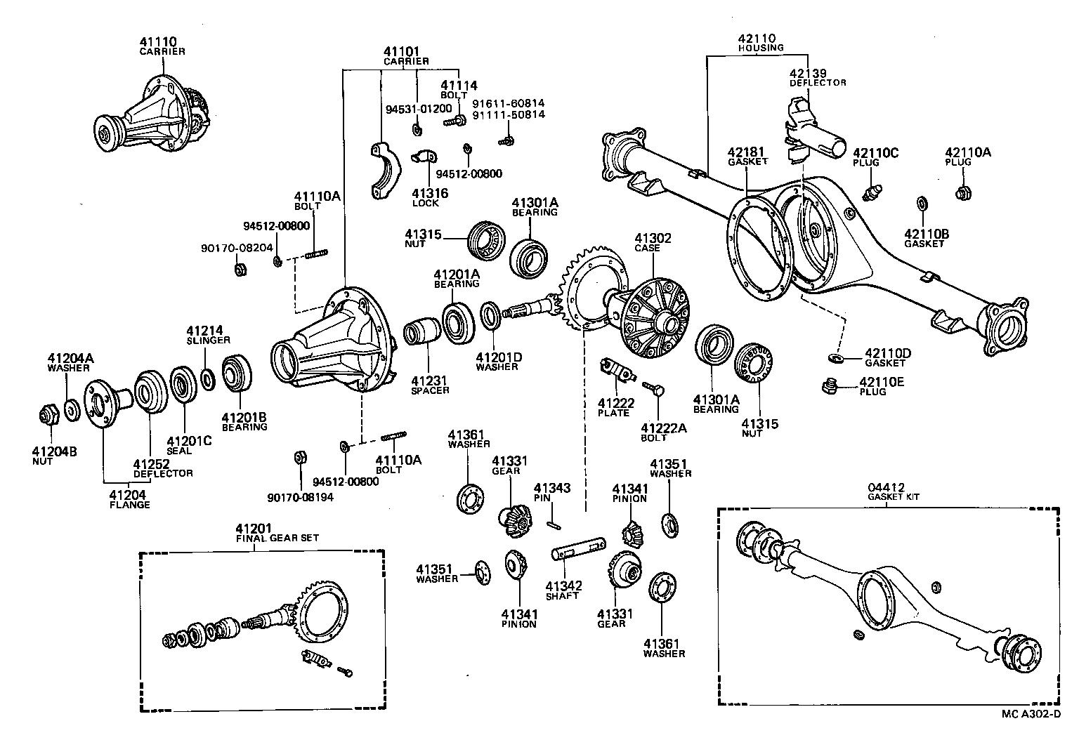 TOYOTA 4 RUNNER TRUCKRN70L-SDCA