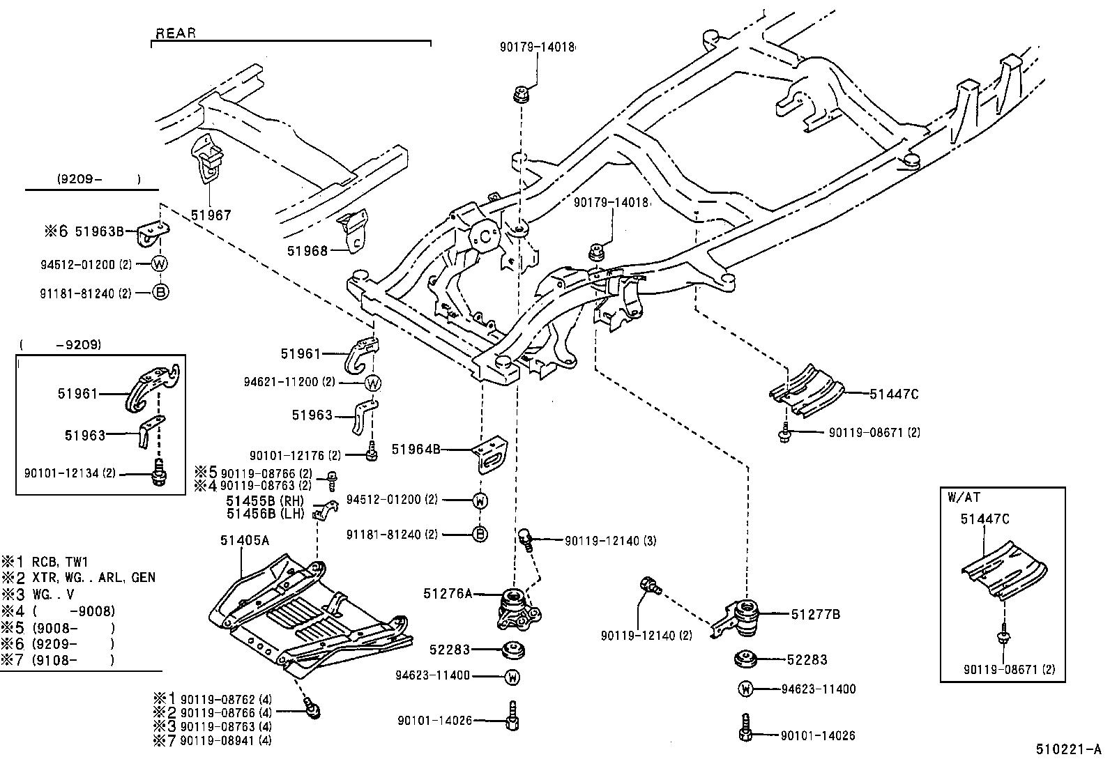 Toyota Hilux 4runnerrn105l Trmdsv