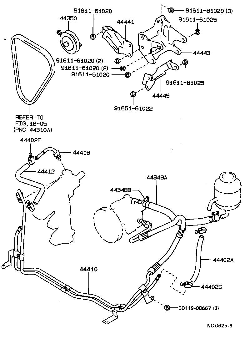 Toyota Previa Parts Diagram 1994 Engine