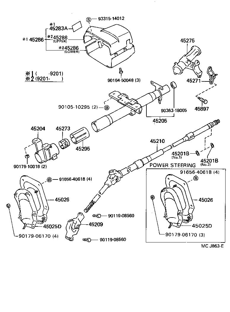 91 Toyota Tercel Engine Parts Diagram