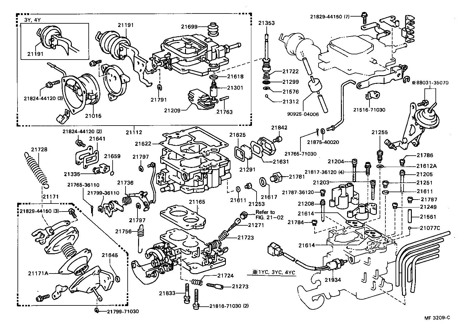 Toyota 22r Carburetor Diagram