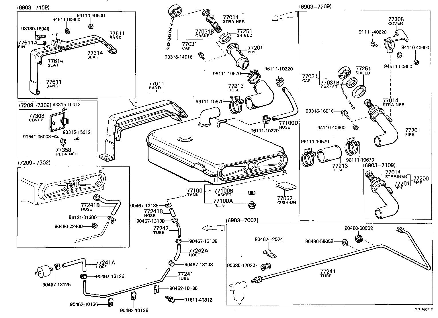 Toyota Land Cruiser Fj40 Body Parts