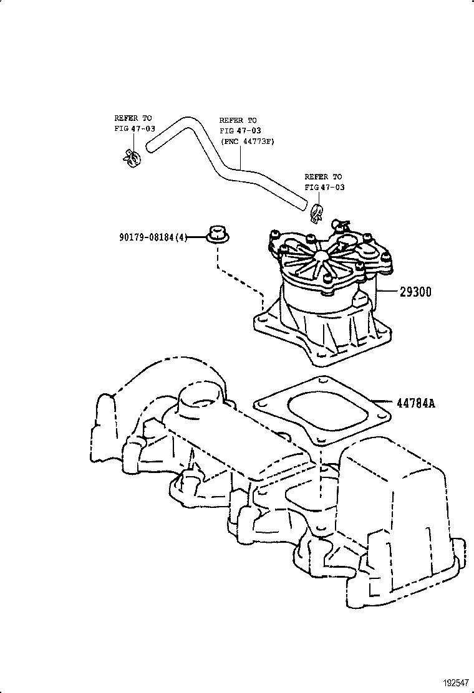 Sprinter vacuum pump