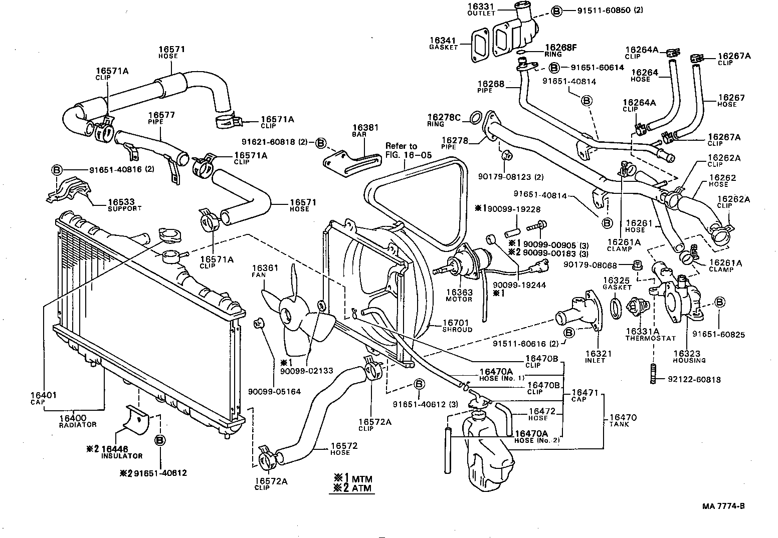 30 Toyota Corolla Parts Diagram