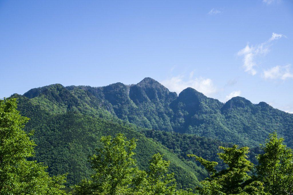 行者還岳(奈良県/大峰山脈)