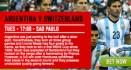 アルゼンチンとベルギーの勝利予想が濃厚
