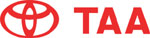 TAA Japanese Toyota Auto Auction Logo