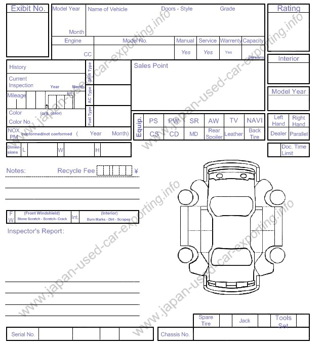 vehicle check in sheet aildoc productoseb co