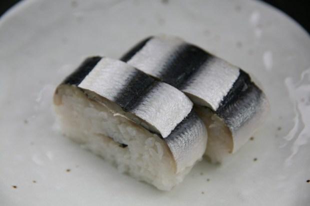 ままかりの押し寿司