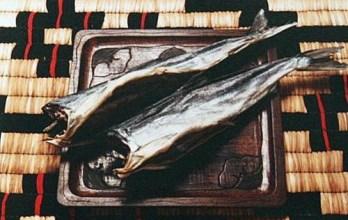 サッチェプ(干し鮭)