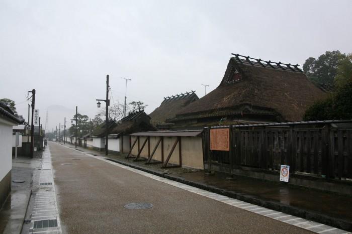 篠山の町並み