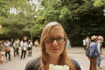 I got a crepe! Another fine example of Kim's photography skills...