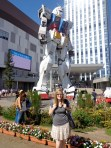 Me and a giant Gundam!