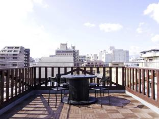 Roof terrace view!