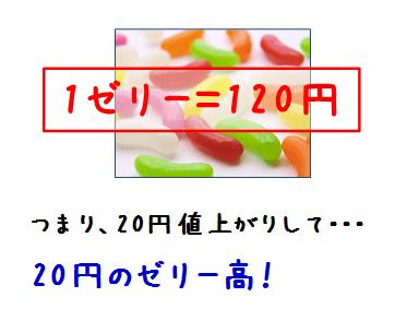 ゼリー120円