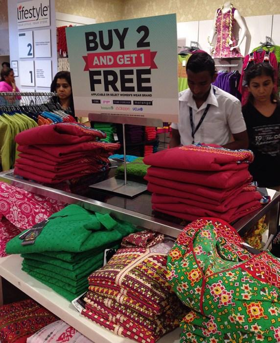 インドの服屋
