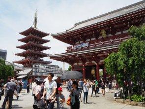 Tempelj in pagoda.