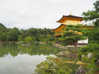 Zlati paviljon v Kyotu.