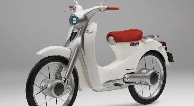 Honda EV Cub front