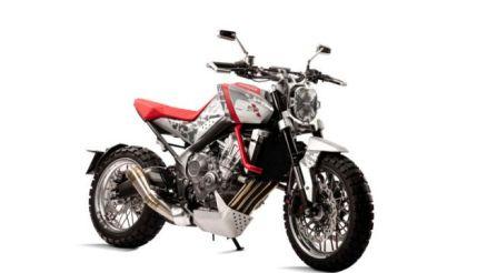 Honda CBsix50 front