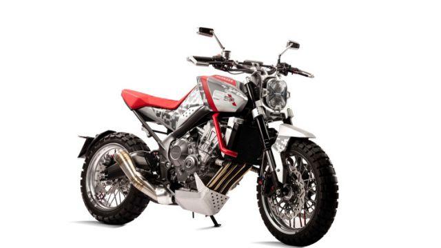 Honda CBsix50 Concept front