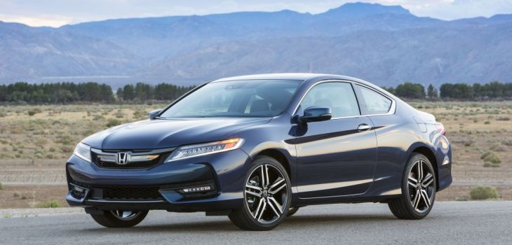 2019 Honda Accord Coupe front