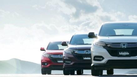 2019 Honda Vezel front view