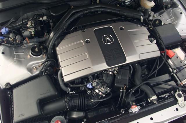 2020 Acura NSX Type R engine