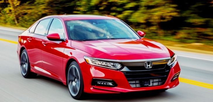 2020 Honda Accord front
