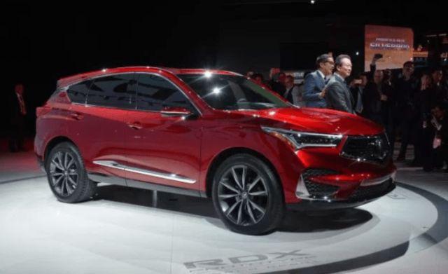 2020 Acura RDX side