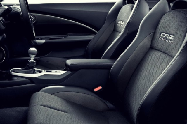 2020 Honda CR-Z TURBO interior