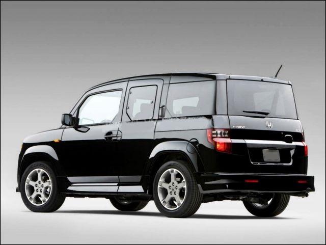 2020 Honda Element rear