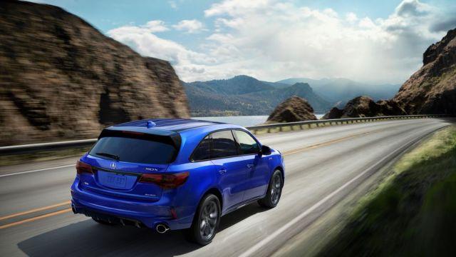 2020 Acura MDX rear
