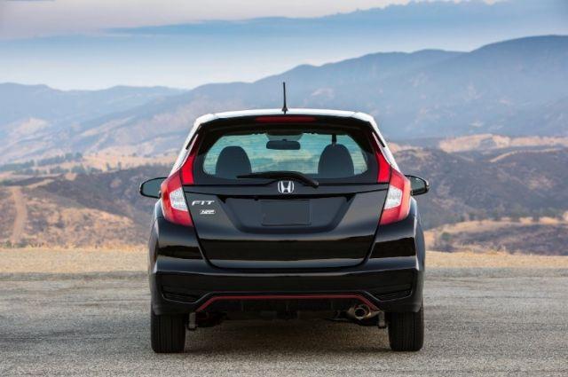 2020 Honda Fit rear