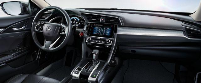 2020 Honda Civic Hatchback interior