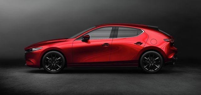 2020 Mazda 3 side