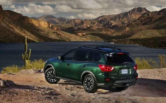 2020 Nissan Pathfinder rear