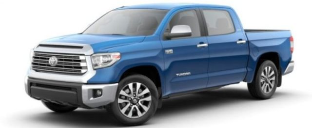 2020 Toyota Tundra Diesel front