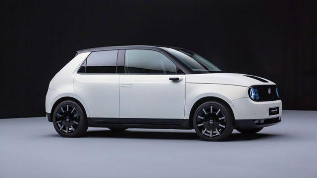 2020 Honda E side