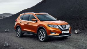 2020 Nissan X-Trail front