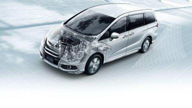 2020 Honda Odyssey Hybrid engine