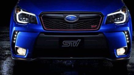 2020 Subaru Forester STI front