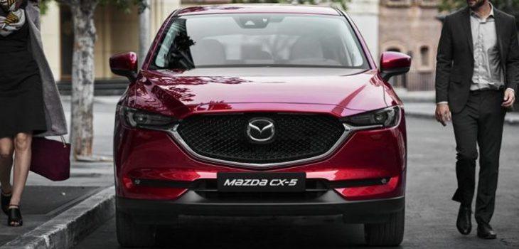 2020 Mazda CX-5 front
