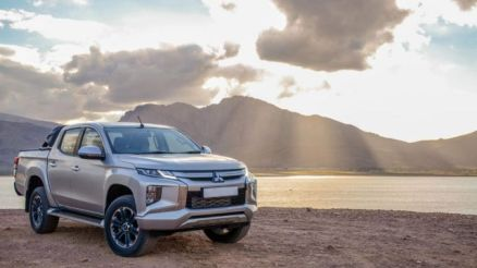 2020 Mitsubishi Triton front