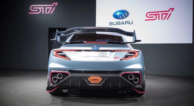 2020 Subaru WRX STI rear