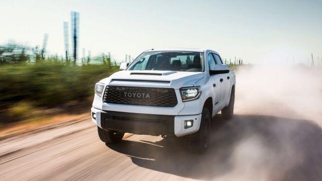 2020 Toyota Tundra TRD Pro front